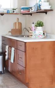 diy countertops contact paper kitchen with wood cabinetarble look counter top with open