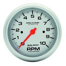 amazon com auto meter 4497 ultra lite in dash electric tachometer auto meter 4497 ultra lite in dash electric tachometer