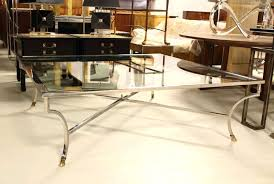 oversized coffee tables coffee table oversized square chrome brass hoof mid century modern coffee table oversized