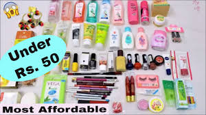 best makeup skincare s under rs 50 most affordable makeup s in india