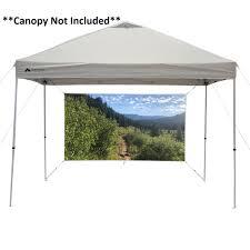 ez pop up 4 walls canopy party tent
