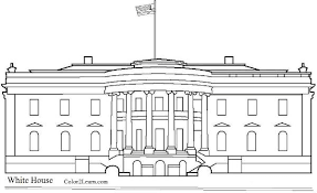 Small Picture The White House Coloring Page And Facts
