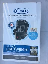 graco snugrid connect 35 rear facing 4 to 35 lbs