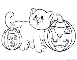 Halloween Disney Coloring Pages How Adorable Is This Kitty Coloring