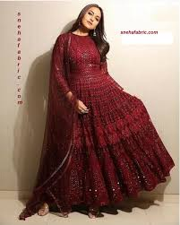Bollywood Designer Suits Online Shopping Exclusive Look Stunning Buy Sonakshi Style Bollywood Designer Anarkali Suit