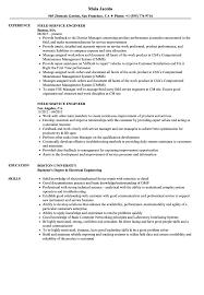 Sample Resume For Field Service Technician Chicagoredstreak Com