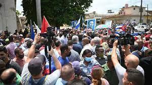 rare anti-government protests ...