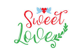 Meaning, for web use you need to link us back (check below) and for print make a visible statement that we designed the graphic. Download Love Is Sweet Svg Free Svg Cut Files For Commercial Use