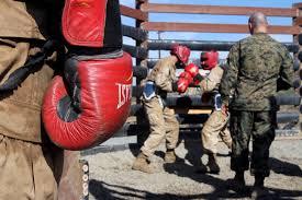 photos recruits of platoon 2111 company e 2nd recruit training battalion face off