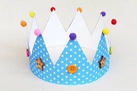 How To Make Hat With Chart Paper Paper Crown Kids Crafts Fun Craft Ideas Firstpalette Com