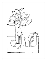 Small Picture Flower Coloring Pages Moms Who Think