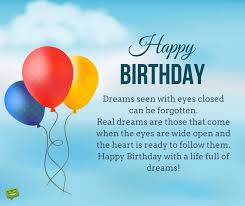 Quotes About Dreams And Wishes Best Of Inspirational Birthday Wishes Messages To Motivate And Celebrate