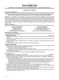 Resume Profile Examples Sales Manager Together With Profile Examples Impressive Sales Director Resume