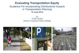 Thinking on Equity/Transport: Todd Litman, Canada | WORLD STREETS ...