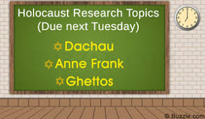 sobering and provocative holocaust research paper topic ideas