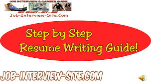 How To Write A Resume Resume Writing Resume Writing Guide Step by Step Resume Guide 71