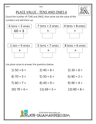 Pictures on 2nd Grade Math Place Value Worksheets, - Easy ...