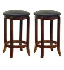 24 inch wooden bar stools. Exellent Inch 24 Inch Swivel Bar Stools  Walnut Finish Set Of 2 Image Inside Wooden