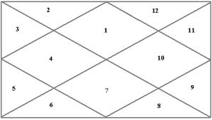 My Rashi Chart For Beginners In Jyotish By Rohini Ranjan
