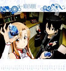 online calendars 2015 sword art online 2015 calendar zerochan anime image board
