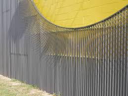 corrugated perforated metal panels for