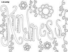 Small Picture 38 best Coloring Pages Quotes Words images on Pinterest