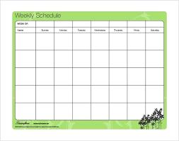 Weekly Schedule Spreadsheet Employee Schedule Maker Excel Shift