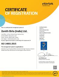 Zenith Birla India Limited