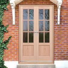 french doors exterior. EXTERIOR Hemlock GTP 2 Panel Door Pair - Fit Your Own Glass French Doors Exterior R