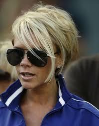 Victoria Beckham Hair Styles Stunning Short Celebrity Hairdos