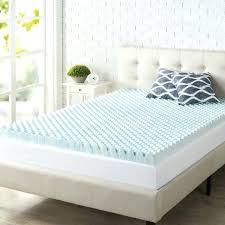 thick mattress topper. Foam Mattress Topper Air Flow 3 Thick Cooling Gel Sleeping Bed Full Size Memory