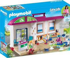 Playmobil Konstruktions Spielset Mitnehm Tierklinik 70146 Auf Raten