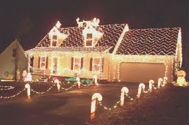 home decor awesome pictures of homes decorated for christmas