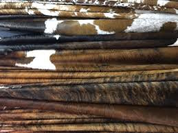 chesterfield hair on hides are guaranteed to be the thickest softest best in texture color and pattern available originating from brazil these hides