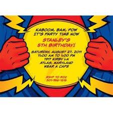 Personalized Superhero Birthday Invitations Superhero Party Personalized Invitation Custom Invitations Party