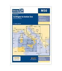 Imray Chart 100 Imray Chart M50 Sardegna To Ionian Sea 2017 Edition