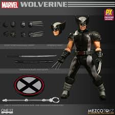 One 12 Collective Marvel X-force Wolverine Action Figure Mezco Toyz 77tjzp1  for sale online | eBay