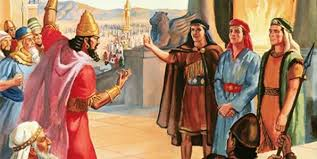 Image result for Nebuchadnezzar demanded daniel worship and bow down to him
