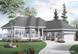 cottage ranch home plan