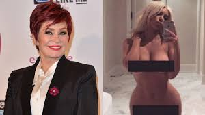 Sharon Osbourne Shares Own Naked Selfie Inspired by Kim Kardashian.