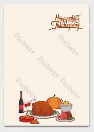 Thanksgiving Day Handwritten A4 Festival Letterhead Word