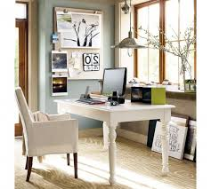 attractive design ideas of cute home office with rectangle shape white wooden computer table and white buy shape home office