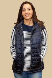 Barbour Ladies Hunbleton Quilted Gilet with hood in NAVY ... & Barbour Ladies Hunbleton Quilted Gilet with hood in NAVY LQU0796NY71 -  Smyths Country Sports Adamdwight.com