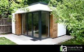 build a garden office. Build Garden Office. Contemporary Room Glass Corner Office A
