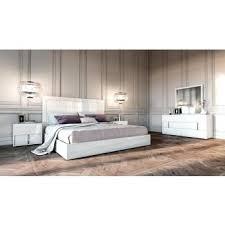 White Italian Lacquer Bedroom Set Modern White Bedroom Set Modrest  Excalibur Italian Modern Ebony Lacquer Bedroom Set