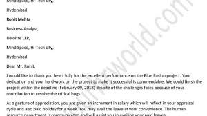 Thank You For The Hard Work Letter Thank You Letter To Employees For Hard Work Letter Writing