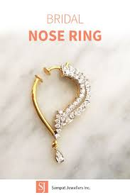 Gold Nose Ring Designs For Bridal Nose Rings To Die For Nose Ring Jewelry Nose Jewelry