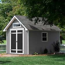 ft x 12 ft deluxe wood storage shed