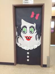 classroom door decorations halloween. Unique Halloween A Halloween Inspired Female Vampire With Classroom Door Decorations C