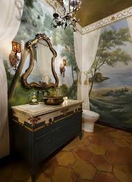 How To Determine The Ideal Position Of Wall Murals In Bathroom Bathroom Wallpaper Murals